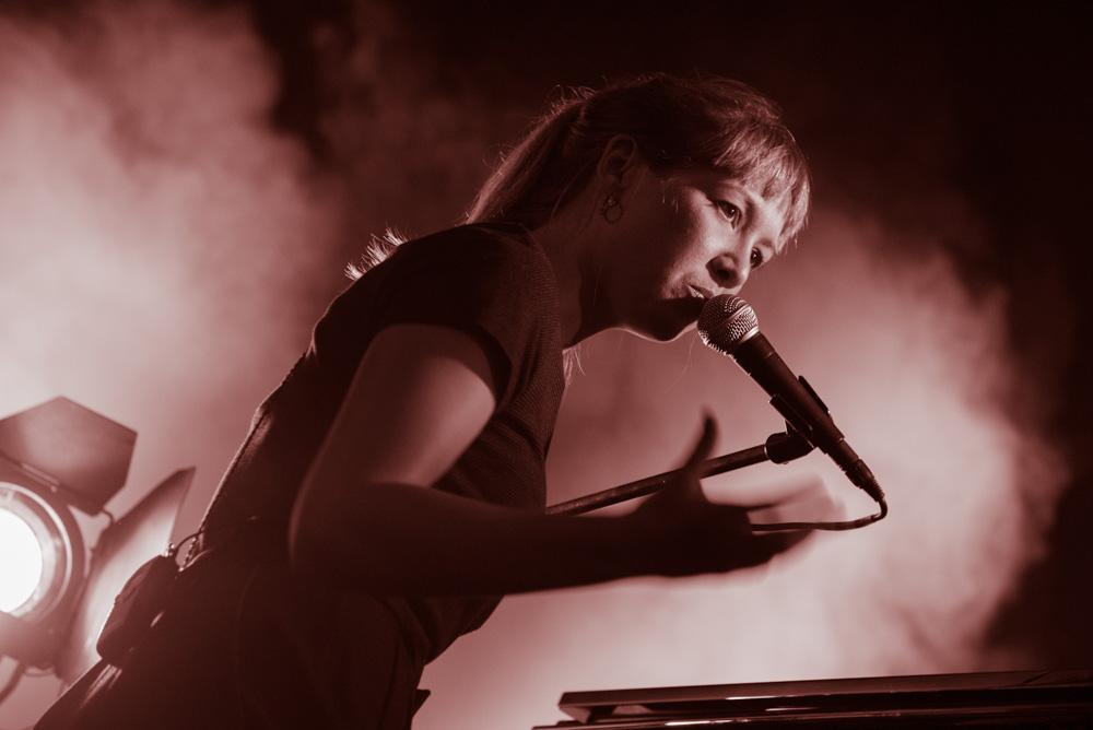 Sophie Hunger live - Hafensommer Würzburg 2015