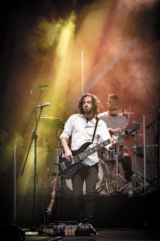 Seven (Bassist Ph!L!pp Schweidler)–Hafensommer Würzburg 2017